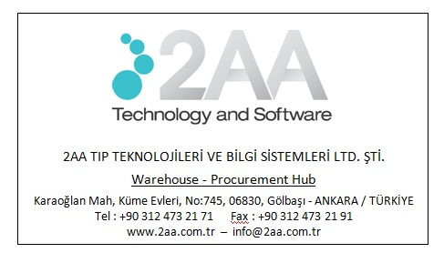 Warehouse - Procurement Hub: Karaoglan Mahallesi, Kume Evleri, No:745, Golbasi, Ankara, TURKEY, 06830