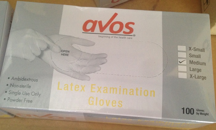 Avos trademark, Medical Gloves